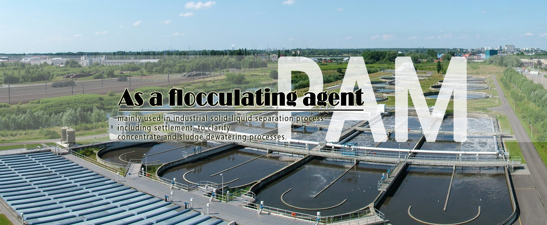 wastewater treatment polyacrylamide flocculant